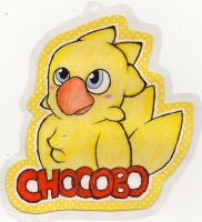 Chocobo! by wolfygirl2341