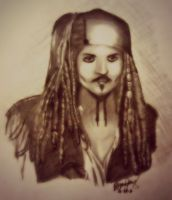 Jack Sparrow by zhymae14