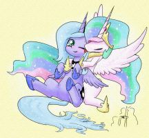 My Little Sister~ ^.^ by PhoenixPeregrine