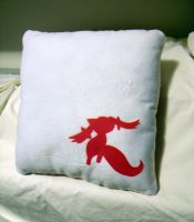 Kyubey Pillow by CynicalSniper