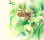 The Knight of White Roses by Inakunaru-Yagi