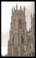 York Minster's tower by Wainyman