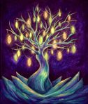 The tree of wishes by Alvitte