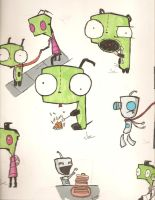 Gir and Zim IV by Jophish126