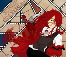 Grell Love by TwilightSadist