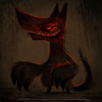 DAY 352. Garouuuu by Cryptid-Creations