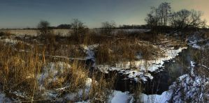 River in the winter by mateuszskibicki1