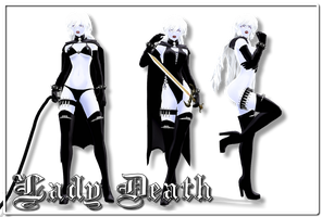 [MMD] Lady Death DL (100k views gift + video) by Riveda1972