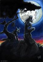 Full moon by Kahito-Slydeft