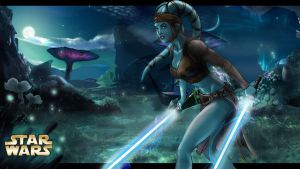 Aayla Secura by fthiers-escorpion