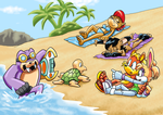 COMM Fun at Emerald Coast Beach 2 by ViralJP