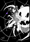 Muffet Ink drawing by Neofox67