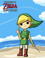 Link Wind Waker by kazumitakashi