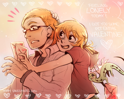 HAPPY VALENTINEs DAY 2014 by Aishishi