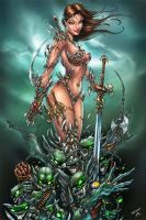 Witchblade and the Darklings by jamietyndall