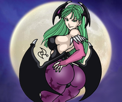 Morrigan Aensland by omar-sin