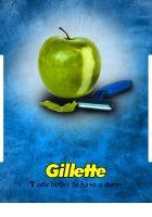 Gilette for shave by ImagineShop
