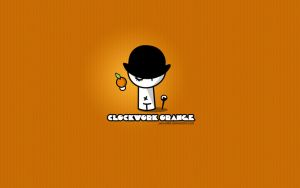 Clockwork Orange - Little boy by pincel3d