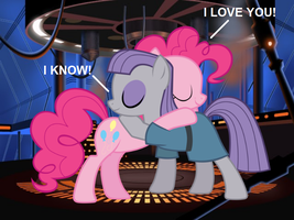 Pinkie and Maud: Galactic Love by TheMexicanPunisher