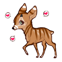 Deer Adopt OPEN by TranquilityBlue