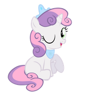 Sweetie Belle (Fantasy Snow Princess) by Pilot231