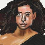 Woman face study n71 by lv888