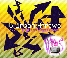 16 Urban Arrows by Killa-Cary