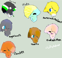 Headshot requestes by Holly1Leaf2Lover3