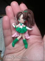 Sailor Jupiter by DarkettinaMarienne