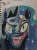 Luna to Nightmare Moon by Duna364