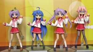 Lucky Star Figma Dancing by OvermanXAN