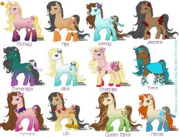 Disney Pony Pack 2 by Morgwaine