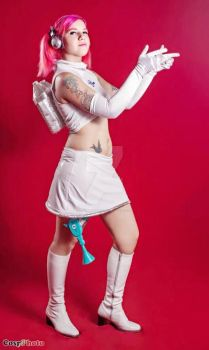 Ulala Space channel 5 cosplay by SofiJunkhead