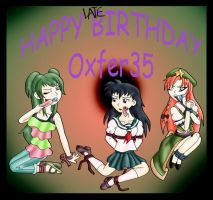 Happy Late Birthday Oxfer35 by kaozkaoz