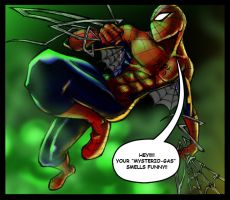 spidey vs mysterio by jack0001