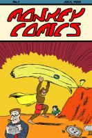 Monkey Comics Numbah One by jimnorth
