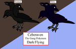 Fakemon - Ceberaven by Piplup-Luv