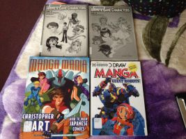 I borrow those Anime books from my college library by Magic-Kristina-KW