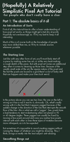 A Relatively Simplistic Pixel Art Tutorial Part 1 by PiXEL-iMP