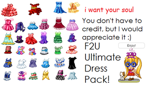 Ultimate Dress Pack by cloudy807