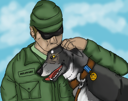 Sitka and Cody- Comrades in arms by lighteningfox