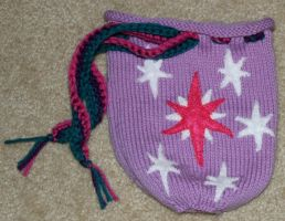 Twilight Sparkle Dice Bag by SweetNerdyCakes