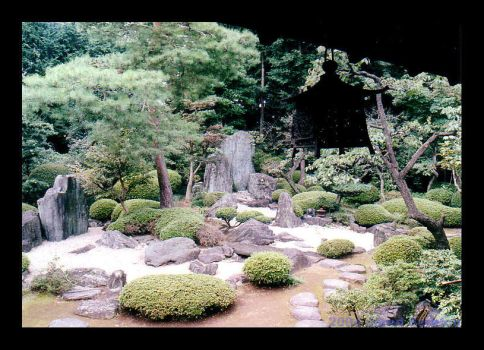 A Garden of Zen by chonbi