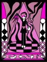 Stain glass PINK for SoulEaterGurl by Poorartman