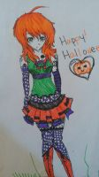Pumpkin Girl by xxXBlackdiamondXxxK