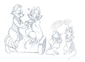 Jonathan Brisby Sketches by Foxsnout45