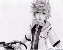 Roxas ( KH3D opening) by Cate397