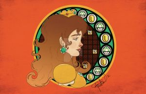 Princess Daisy by aprilmdesigns
