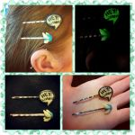 Navi and Speech Charm Hair Pin set by LimitlessDreamer