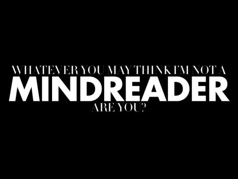 Mindreader by Invisible-NME